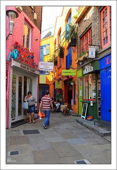 Neal's Yard, Camden Town, London