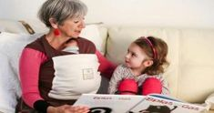 Grandmother reads while babywearing in an Organic Hugabub Wrap Organic Baby, Organic Cotton, Best Baby Carrier, Aging Parents, How To Stay Healthy, Healthy Tips, Baby Wearing, Getting Old, Stay Fit