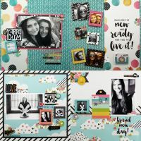 Carpe Diem 12x12 Two Double Page Layout Kit by Simple Stories for Scrapbooks, Cards, & Crafting found at FotoBella.com