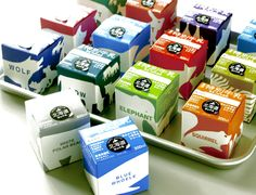 Hokkaido Non Sterilized Milk   Packaging of the World: Creative Package Design Archive and Gallery