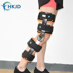Sports Knee Brace, Hinged Knee Brace, Braces, Jeans, Birkenstock, Free Shipping, Model, Orange