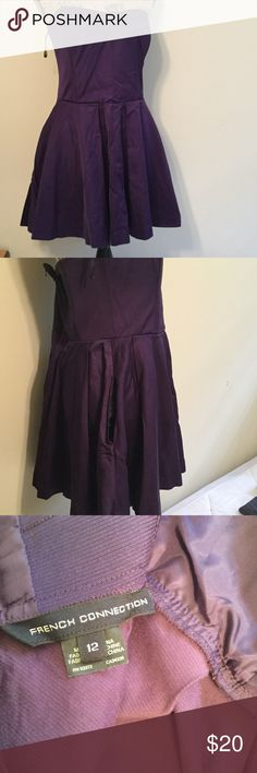 French Connection Strapless Dress French Connection Strapless Dress with pockets EUC.  Only wore twice French Connection Dresses Mini