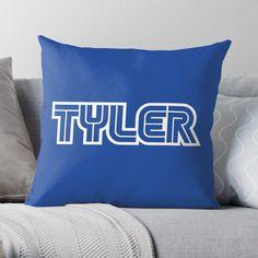 'Gamer name Tyler' Throw Pillow by el-patron Gamer Names, Games To Buy, Throw Pillows, The Originals, Toss Pillows, Cushions, Decorative Pillows, Decor Pillows, Scatter Cushions