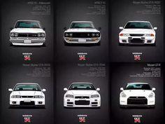 GTR series. Boy.. R32 is still the one!!!