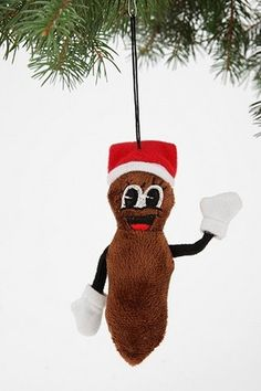 Mr. Hanky Plush Ornament from Urban Outfitters on Catalog Spree, my personal digital mall. OMG this is too funny!