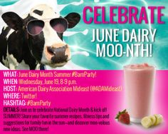 #BarnParty with @American Dairy Association Mideast and @OhioDairyFarmers on 6/19 at 8 pm est