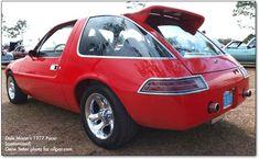77 Pacer drag car