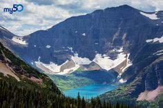 Glacier National Park in the USA is awe inspiring! Make it a vacation destination you want to travel to as part of your bucket list on my50.com.