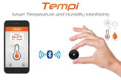 Tempi‐monitortemperatureandhumiditywithyoursmartphone :http://mytempi.com/