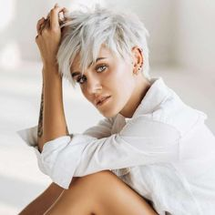 Yulia Short Hairstyles - 1 - - New Hair Styles Popular Short Hairstyles, Short Pixie Haircuts, Cute Hairstyles For Short Hair, Short Hair Cuts For Women, Curly Hair Styles, Blonde Hairstyles, Fashion Hairstyles, Best Haircuts, Short Cuts