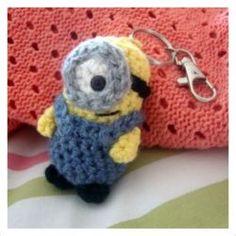 crochet chap stick holder