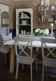 105 Best Farmhouse Dining Room Images On Pinterest In 2018 | Dining Rooms,  Cottages And Dining Area
