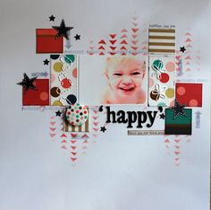 #papercraft #scrapbook #layout.  Quintessentially Me
