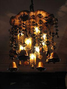 a mood setting chandelier
