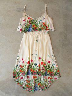 Garden Party Dress <3 #floralprint #summer