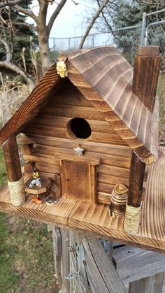 Check out this item in my Etsy shop https://www.etsy.com/listing/575894043/western-bird-house