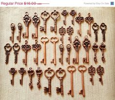 Hey, I found this really awesome Etsy listing at https://www.etsy.com/listing/105499594/sale-keys-to-the-kingdom-skeleton-keys