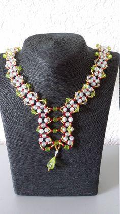 Schmuckset: Collier, Armband, Ohrringe von PerlenweltDesign auf Etsy