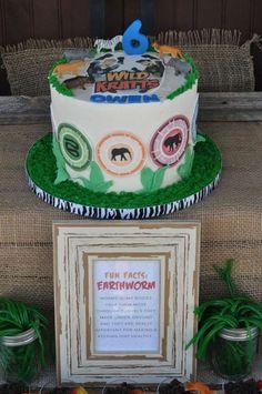 Wild Kratts Birthday Cake Walmart