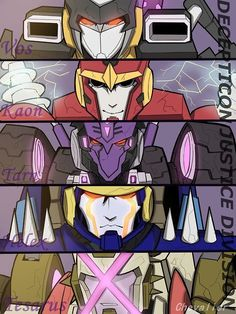 Decepticons Justice Division - I don't fear them!!!!!