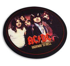AC/DC Teppich rund