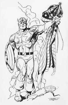 Captain America by John Byrne