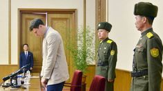 Student VS opgepakt in N-Korea: ik smeek u om vergiffenis | NOS