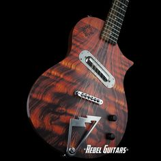 scott walker guitars - solace rosewood