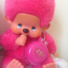 Kiki le vrai fushia Ajena collection. Made In France ° Mo0mins ° Polly Pocket.