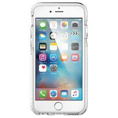 Чехол для iPhone 6, 6S гибридный Spigen SGP Ultra Hybrid Tech прозрачный - Portative.by