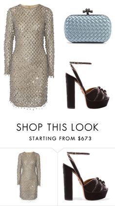 """Singapore ( Audi )"" by theblondesandwich ❤ liked on Polyvore featuring Michael Kors, Aquazzura and Bottega Veneta"