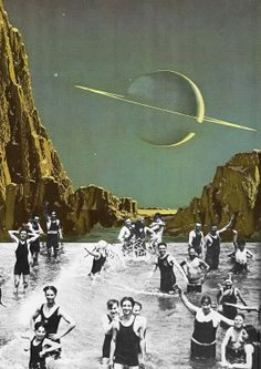 Collage by Steven Quinn Collages, Surreal Collage, Surreal Art, Photomontage, Mixed Media Collage, Collage Art, Illustrations, Illustration Art, 4 Tattoo