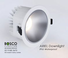 BoscoLighting ARIEL recessed downglight is made from high quality materials designed for areas like bathrooms, toilets or any applications where splashing of water would be potentially present. Available in different wattages. Contact us for more info! Light In The Dark, Light Up, Recessed Downlights, Reception Areas, Toilets, Lighting Solutions, Material Design, Ariel, Bathrooms