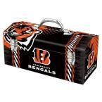 Team ProMark 7.2 in. Cincinnati Bengals NFL Tool Box, Multi-Color