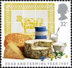 Royal Mail Special Stamps   Food and farming year 1989. Dairy produce