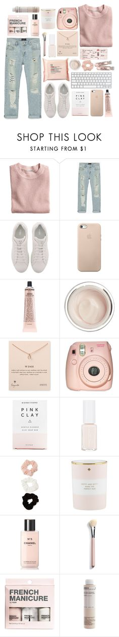"""""""Exchange"""" by queen-elizabeth2000 ❤ liked on Polyvore featuring H&M, Zara, Fendi, Grown Alchemist, Dr. Sebagh, Dogeared, The Body Shop, Fujifilm, Herbivore and Forever 21"""