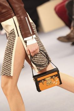 Louis Vuitton Autumn/Winter 2014-15 Ready-To-Wear--like a mini trunk.