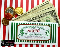 Personalized Christmas Money Envelopes by LittlebeaneBoutique, $3.25