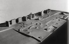 Isamu Noguchi & Edward D. Stone -- Jefferson National Expansion Memorial Competition proposal, 1947
