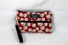 Baseball Padded Gamers Pouch Nintendo DS DSi Sony PSP by ElisaLou, $28.00