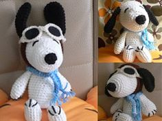 images of crocheted free snoopy patterns | crochet pattern , free pattern