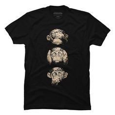 3 wise monkeys Men's T-Shirt