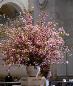 Amazing cherry blossom floral arrangement