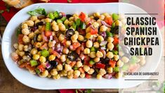 Chickpea Recipes, Lentil Recipes, Chickpea Salad, Cauliflower Recipes, Lunch Recipes, Vegetable Recipes, Salad Recipes, Vegetarian Recipes, Cooking Recipes