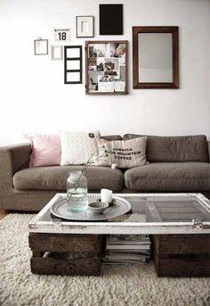 ideas de muebles low cost para el salón:
