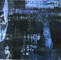 GRISAZUR: Acrílico sobre papel, 13x13 cm.Oct. 17, 2016