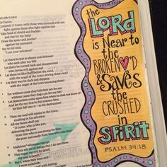 Bible journaling, only this pic Faith Bible, My Bible, Bible Art, Scripture Art, Bible Study Journal, Art Journaling, Scripture Journal, Bible Doodling, Bible Prayers