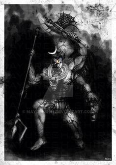 Rudra by on DeviantArt Aghori Shiva, Rudra Shiva, Mahakal Shiva, Shiva Art, Krishna, Angry Lord Shiva, Indiana, Lord Shiva Hd Wallpaper, Shiva Tattoo