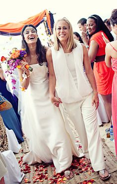 The Deep and Secret Yes: What to Wear to Your Lesbian Wedding