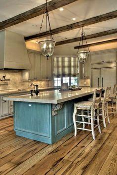 Amazing 35 Incredible DIY Rustic Farmhouse Kitchen Decor Ideas https://toparchitecture.net/2018/02/16/35-incredible-diy-rustic-farmhouse-kitchen-decor-ideas/